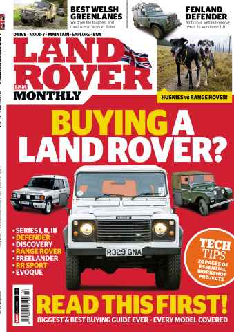 Land Rover Monthly issue Mar 16