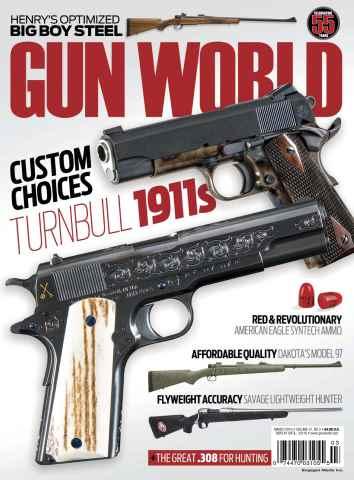 Gun World issue March 2016