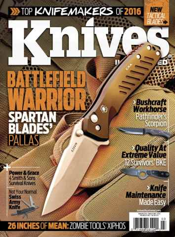 Knives Illustrated issue Mar/Apr 2016
