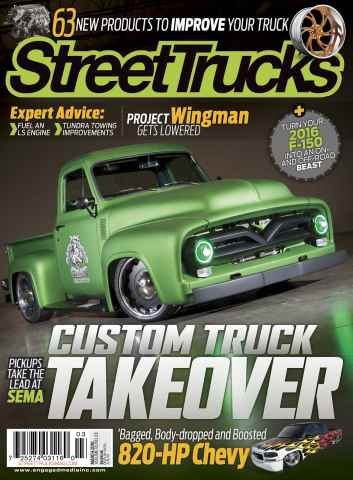 Street Trucks issue March 2016