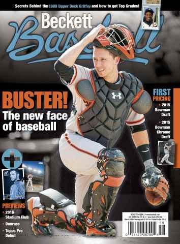Beckett Baseball issue March 2016