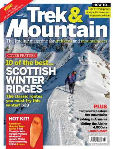 Trek & Mountain Magazine issue Feb-16