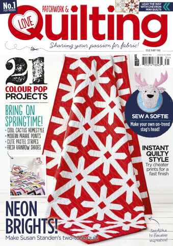 Love Patchwork & Quilting issue Issue 31