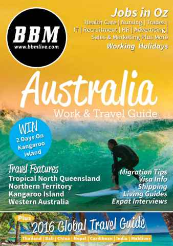 BBM Live issue Australia Work and Travel Guide 4