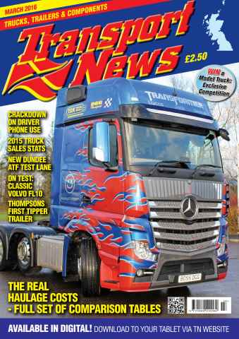 Transport News issue March 2016