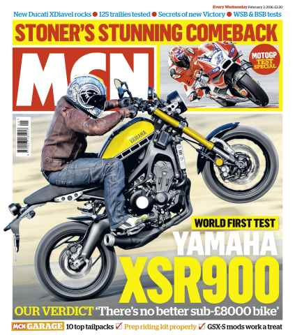 MCN issue 3rd February 2016