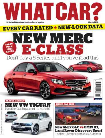 What Car Magazine issue March 2016