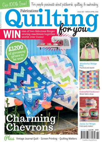 Fabrications: Quilting for You issue Mar/Apr 2016