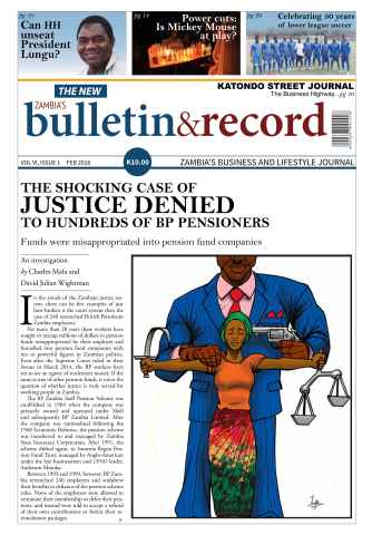 The Bulletin & Record issue February 2016