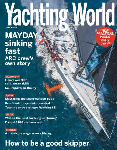 Yachting World issue March 2016