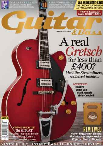 Guitar & Bass Magazine issue Mar 2016
