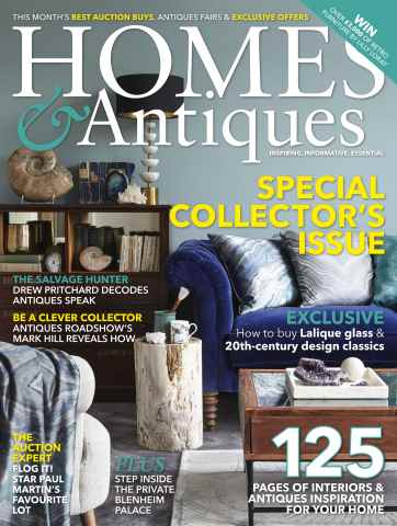 Homes & Antiques Magazine issue March 2016