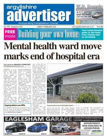 Argyllshire Advertiser issue 5th February 2016