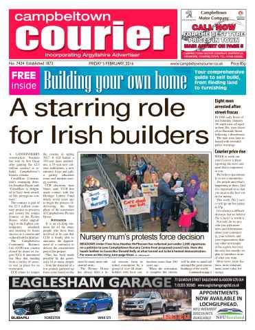 Campbeltown Courier issue 5th February 2016