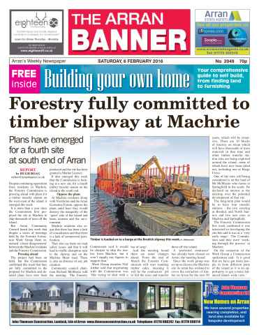 Arran Banner issue 6th February 2016