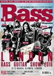 Bass Guitar issue Show Special 2016