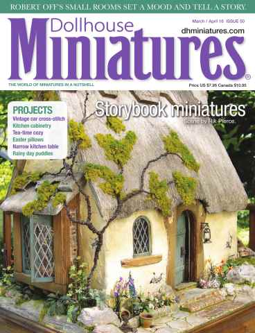 Dollhouse Miniatures issue Issue 50