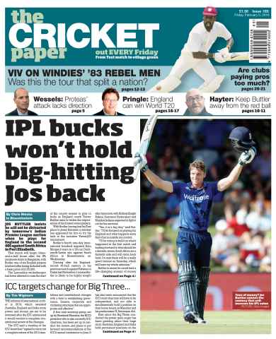The Cricket Paper issue 5th February 2016