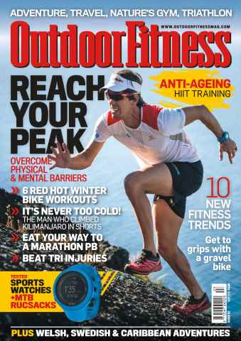 Outdoor Fitness issue No. 52 Reach Your Peak