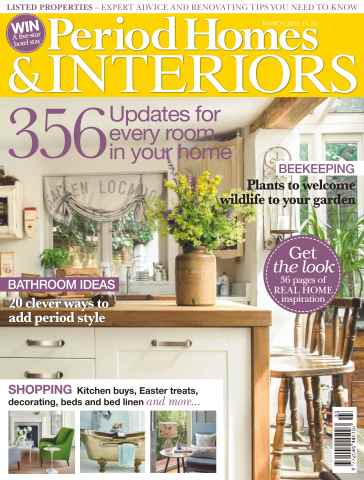 British Period Homes issue No. 69 356 Updates For Every Room