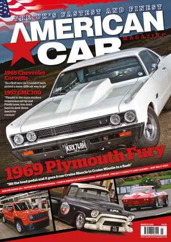American Car Magazine issue March 2016