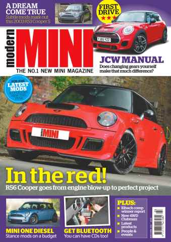 Modern Mini issue No.77 In The Red!