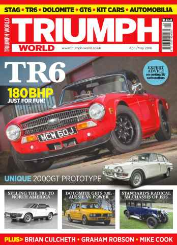 Triumph World issue No. 159 TR6
