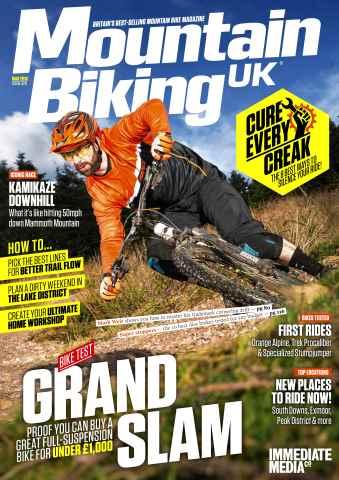 Mountain Biking UK issue March 2016