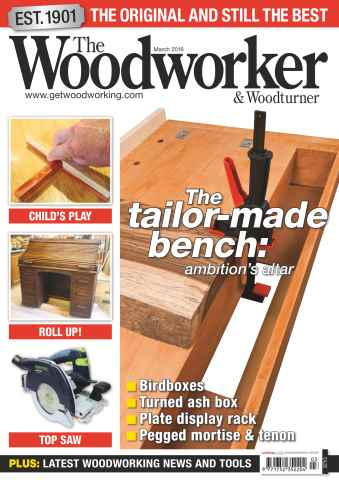 The Woodworker Magazine issue March 2016