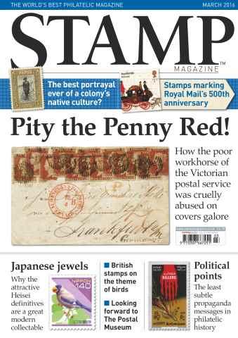 Stamp Magazine issue March 2016