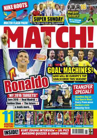 Match issue 9th February 2016