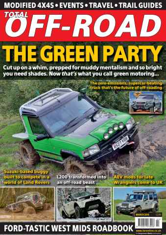 Total Off Road Magazine issue March 2016