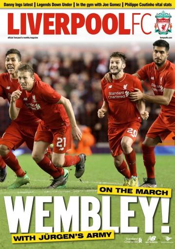 Liverpool FC Magazine issue Mar-16