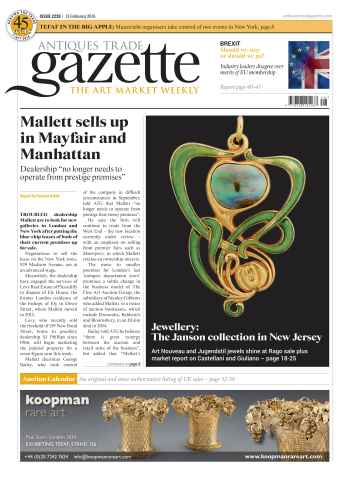 Antiques Trade Gazette issue 2228