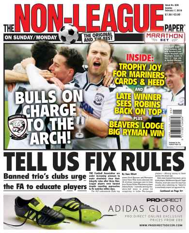The Non-League Football Paper issue 7th February 2016