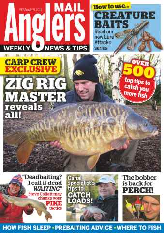 Anglers Mail issue 9th February 2016
