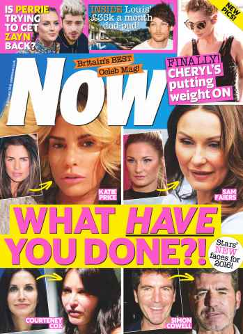 Now issue 15th February 2016