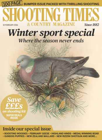 Shooting Times & Country issue 10th February 2016
