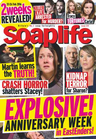 Soaplife issue 13th February 2016