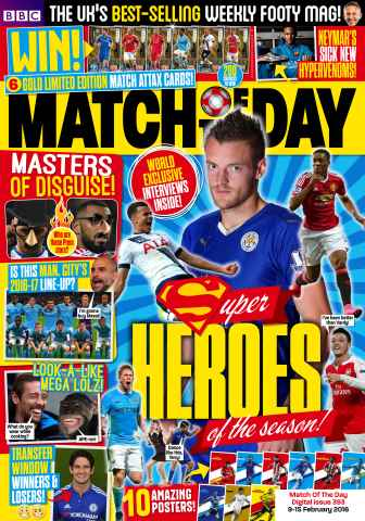Match of the Day issue Issue 393