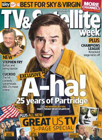 TV & Satellite Week issue 13th February 2016