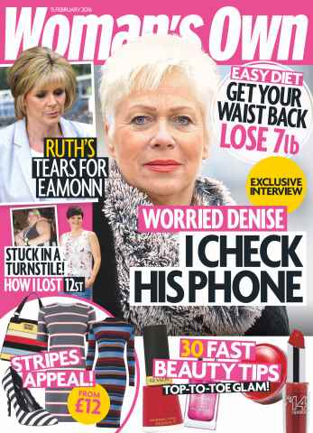 Womans Own issue 15th February 2016