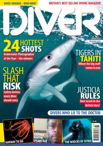 DIVER issue MARCH 2016