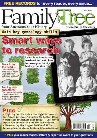 Family Tree issue Family Tree March 2016