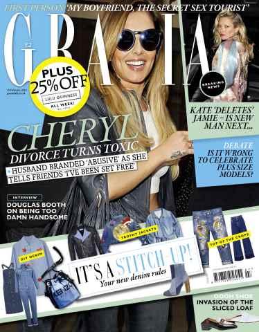 Grazia issue 15th February 2016
