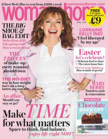 Woman & Home issue April 2016