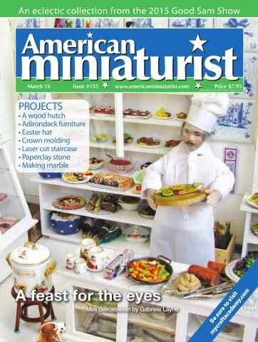 American Miniaturist issue Issue 155