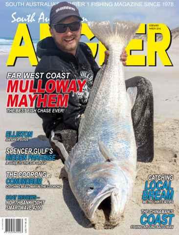 South Australian Angler (SA Angler) issue SA Angler Feb / March 2016