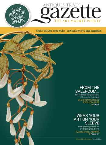 Antiques Trade Gazette issue 2228 Jewellery Feature