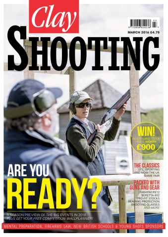 Clay Shooting issue March 2016